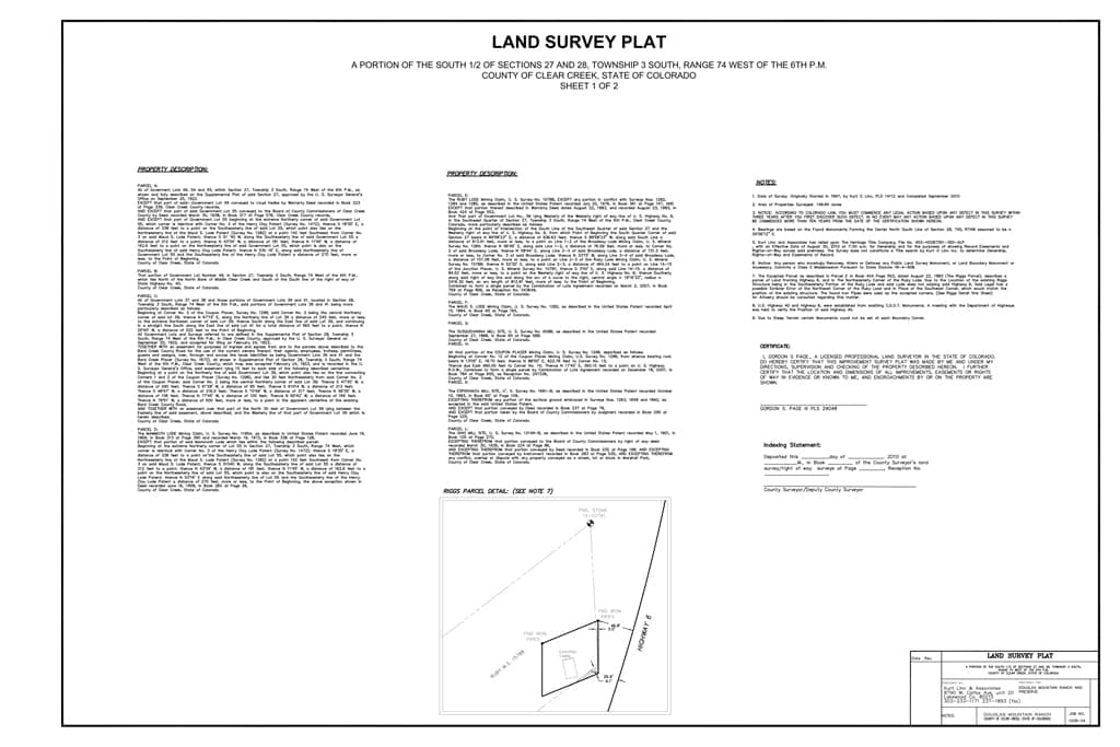 land survey plat 1